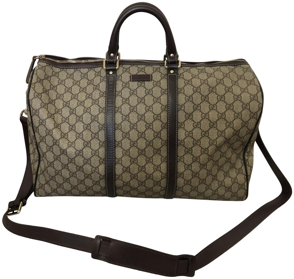 435200d2 Gucci Duffle Monogram Canvas Weekend/Travel Bag 31% off retail
