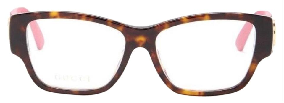 f3972325a89 Gucci Authentic Gucci 51mm Square Cat Acetate Glitter optical glasses Image  0 ...