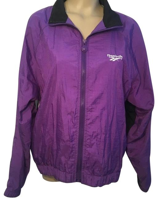 Item - Purple Vintage Nylon Windbreaker Activewear Outerwear Size 10 (M)