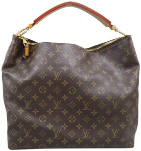 Louis Vuitton Sully Mm Monogram Hobo Bag