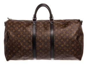 Louis Vuitton Monogram Macassar Travel Bag