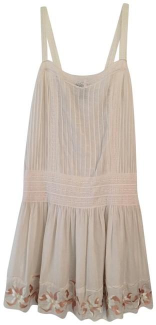 Item - Ivory/Cream Long Short Casual Dress Size 8 (M)
