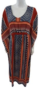 Multicolor Maxi Dress by One September Tribal Maxi