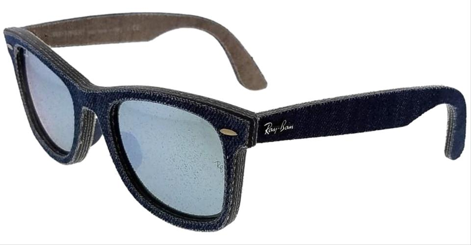 mens ray ban wayfarer sunglasses blue