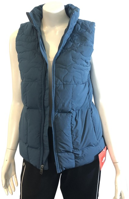 Item - Blue 1419 Monterey Rhea Down Quilted Vest Size 4 (S)