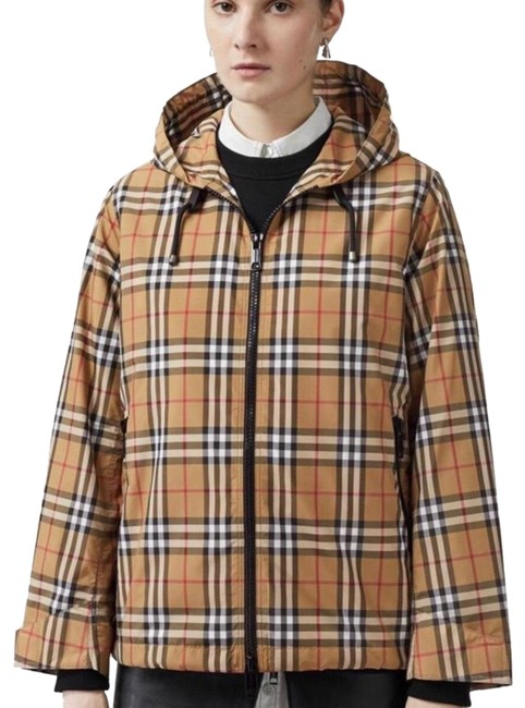 Preload https://img-static.tradesy.com/item/25222671/burberry-antique-yellow-check-winchester-vintage-lightweight-hooded-jacket-size-8-m-0-1-650-650.jpg
