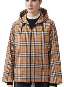 Burberry antique yellow check Jacket