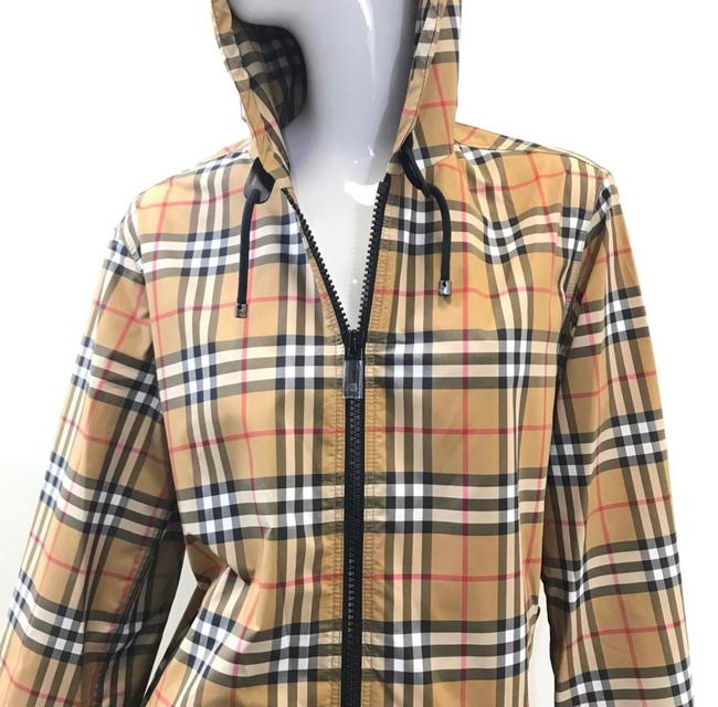 Burberry antique yellow check Jacket Image 4