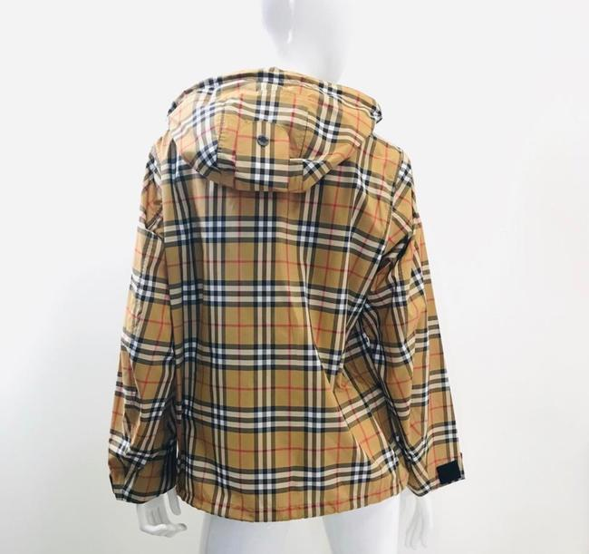 Burberry antique yellow check Jacket Image 7