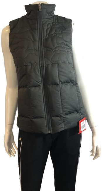 Item - Black 1419 Rhea Down Quilted Vest Size 4 (S)