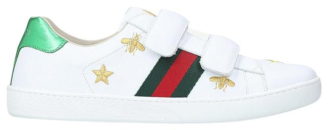 Item - Silver Unisexnew Ace Bee Star Leather Trainers Sneakers Size EU 36 (Approx. US 6) Regular (M, B)