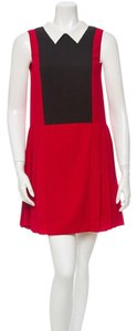 Timo Weiland short dress Red, Black on Tradesy