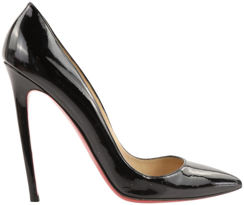 58245b70b1b Christian Louboutin Black Pigalle 120 Patent Leather Pumps Size EU 40.5  (Approx. US 10.5) Regular (M, B) 61% off retail