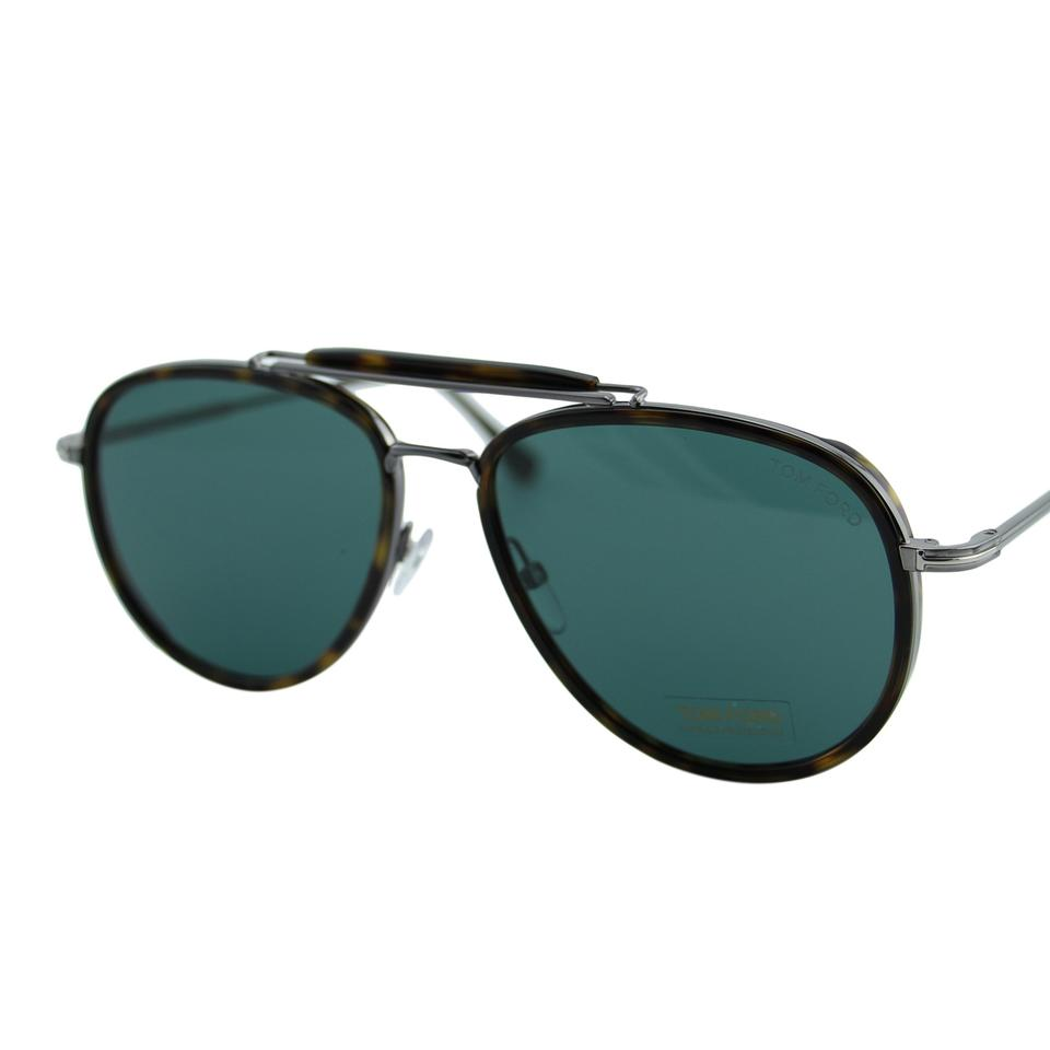 0f69e8909d Tom Ford Brown   Green New Tf Tripp Ft0666 52n Palladium Double Top ...