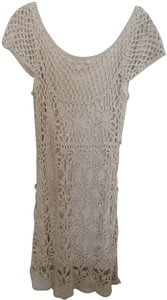The Pyramid Collection short dress Beige on Tradesy