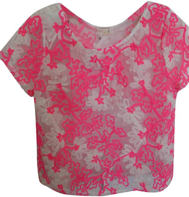 Item - Meadow Rue Lace From Pink Top