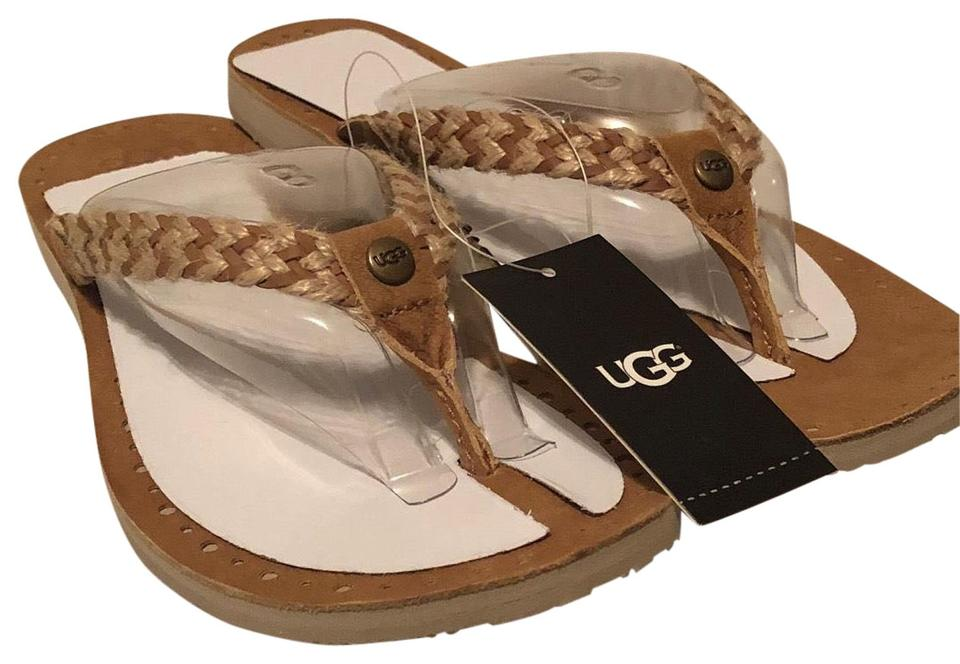 c2dbda961f3 UGG Australia Brown Navie Lol 1015542 Sandals Size US 8 Regular (M, B)