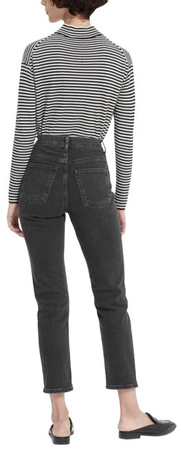 Item - Washed Black Medium Wash The Cheeky Straight Leg Jeans Size 27 (4, S)