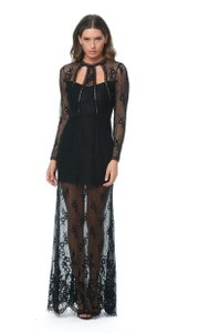 Alexis Prom Long Sleeve Lace Dress