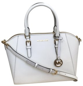 3aab000eabd00 Michael Kors Coach Reversible Tote Tote Satchel in White