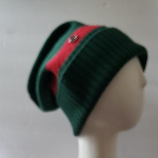Gucci Gucci beanie hat green red size M Image 1