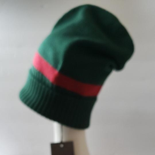 Gucci Gucci beanie hat green red size M Image 2