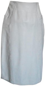 Ezra Skirt WHITE SOFT LEATHER