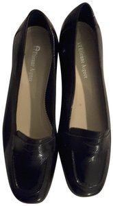 Etienne Aigner Patent Leather Black Flats