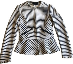 Zara Black, White Jacket