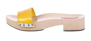 Prada Yellow Platforms