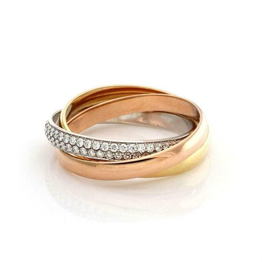 Preload https://img-static.tradesy.com/item/25225400/cartier-59809-trinity-pave-diamond-18k-gold-rolling-band-size-54-us-7-paper-ring-0-0-540-540.jpg