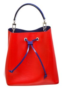 Louis Vuitton Bucket Satchel in 489872 Red