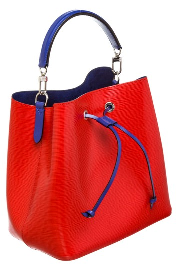 Louis Vuitton Bucket Satchel in 489872 Red Image 1