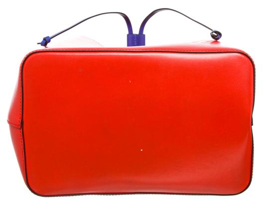 Louis Vuitton Bucket Satchel in 489872 Red Image 3