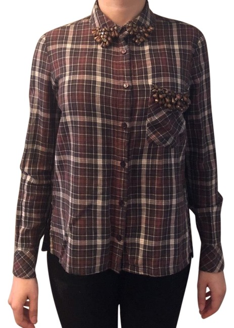 Item - Checkers Blouse Size 0 (XS)