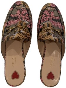 Gucci Brown, Yellow ,Pink Mules