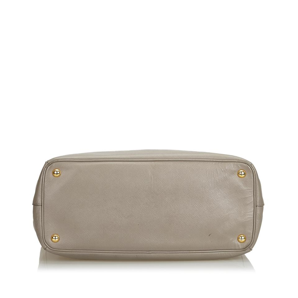 9ff80652feb19c Prada Galleria Saffiano Handbag Italy W Dust Gray Leather Shoulder Bag -  Tradesy
