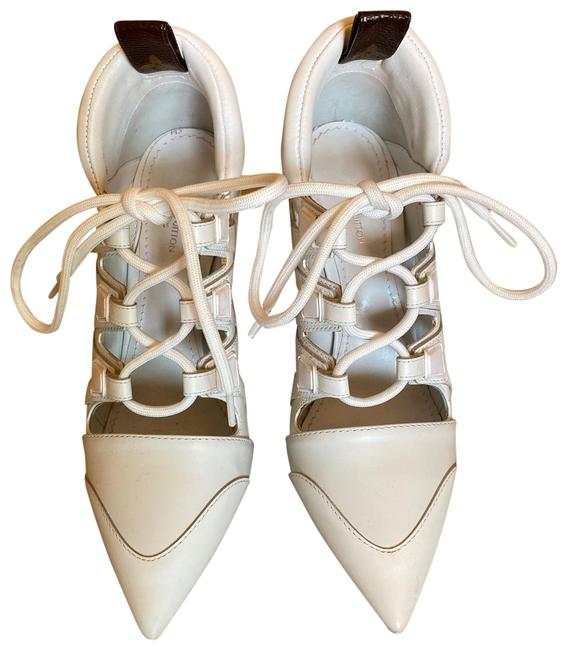 Item - White with Black Soles Leather Sneaker Pumps Size EU 36 (Approx. US 6) Regular (M, B)