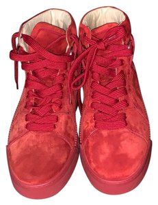 5e43825c27d0 Red Christian Louboutin Sneakers - Up to 90% off at Tradesy