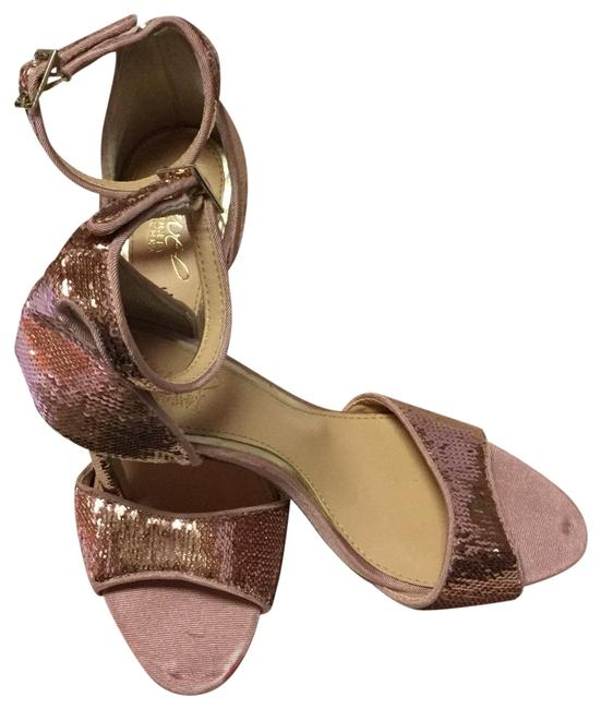 Item - Pink Rose Gold Sequin Lorena Pump Formal Shoes Size US 6 Narrow (Aa, N)