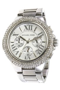 Michael Kors Paved Crystals Camille Chronograph Watch