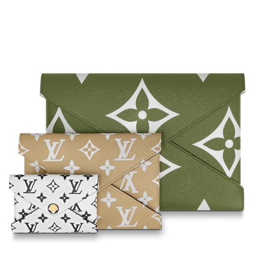 Louis Vuitton Khaki/Beige Clutch Image 2