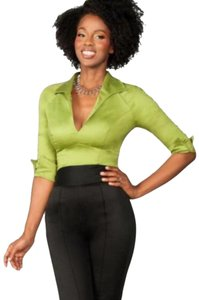 Pinup Couture Top Green