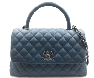 b8e0156e76c1 Blue Chanel Bags - 70% - 90% off at Tradesy