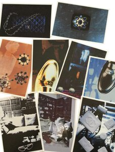 Chanel RARE VINTAGE 1996 CHANEL POSTCARDS