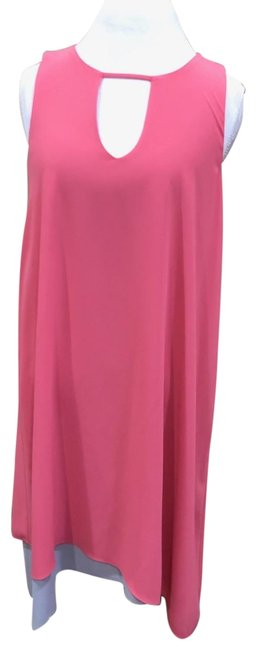 Barr + Barr Coral Bar Iii Womens Asymmetrical Shift Large Mid-length Casual Maxi Dress Size 12 (L) Barr + Barr Coral Bar Iii Womens Asymmetrical Shift Large Mid-length Casual Maxi Dress Size 12 (L) Image 1