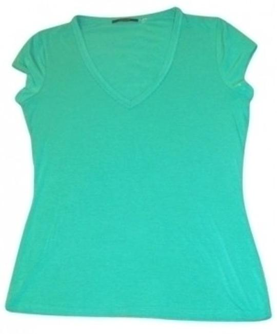 Preload https://item3.tradesy.com/images/elie-tahari-teal-tee-shirt-size-4-s-25227-0-0.jpg?width=400&height=650