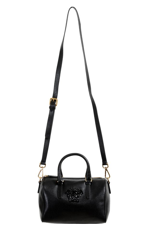 fec0641e61 Versace Women's Crossbody Black Leather Shoulder Bag - Tradesy