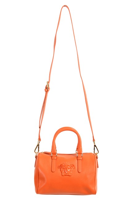 Item - Women's Handbag Orange Leather Shoulder Bag