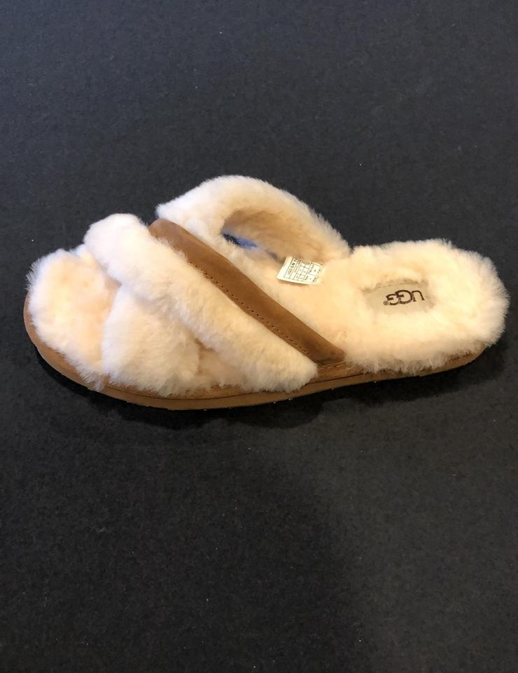 affa52e07de UGG Australia Ivory Abela Sheepskin Slipper Boots/Booties Size US 8 Regular  (M, B) 11% off retail